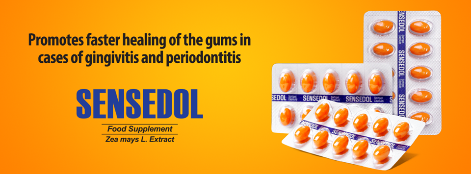 SENSEDOL | All About the First Food Supplement for Gum Health in the Philippines