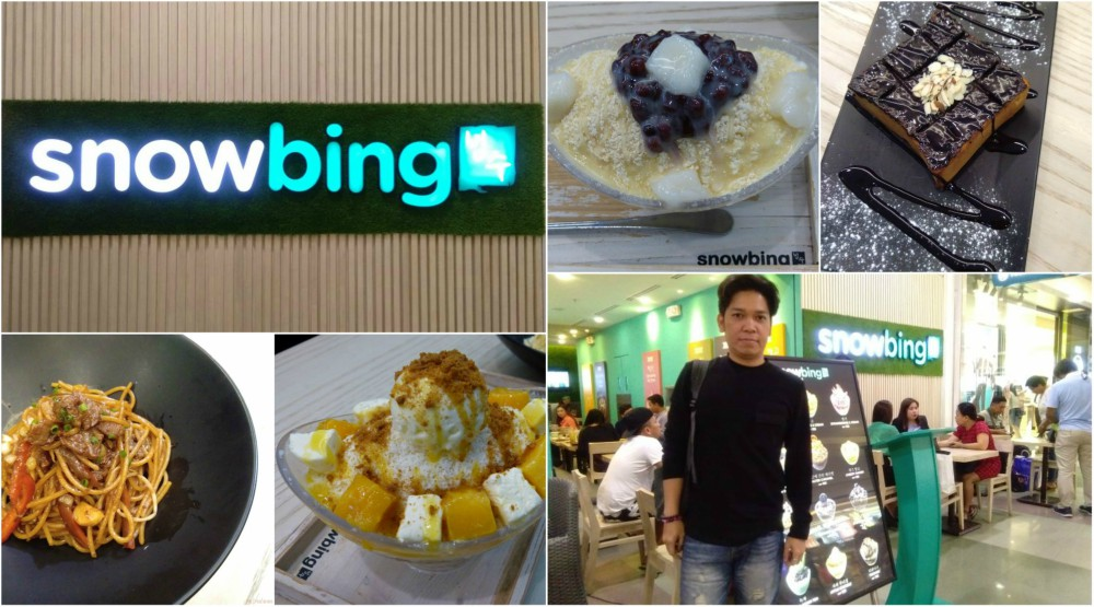 SNOWBING SM North EDSA | Korean Shaved Ice Desserts, Toasts, Pasta and More