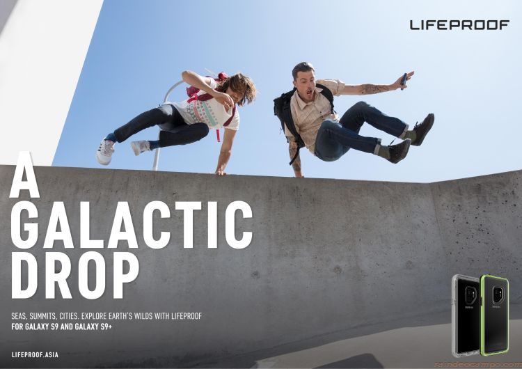 LifeProof Drops New Case Lines for Samsung Galaxy S9 and S9+