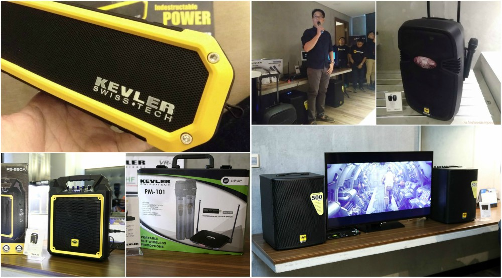 KEVLER Professional Quality Portable Home Audio Systems – Specs and Price List
