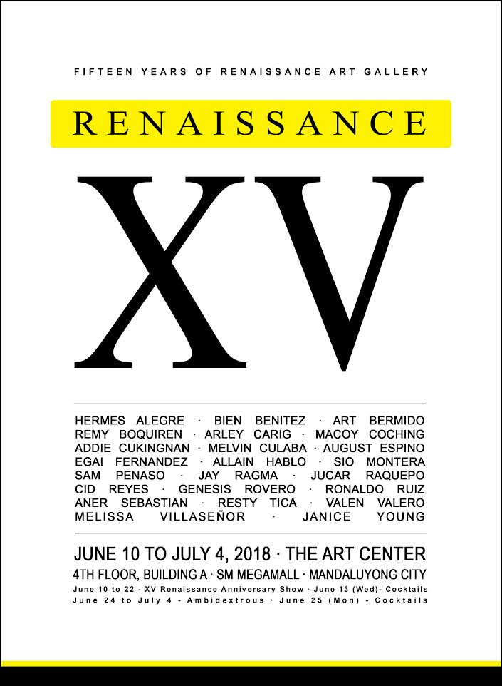 XV | Renaissance Gallery Celebrates its 15th Year Anniversary