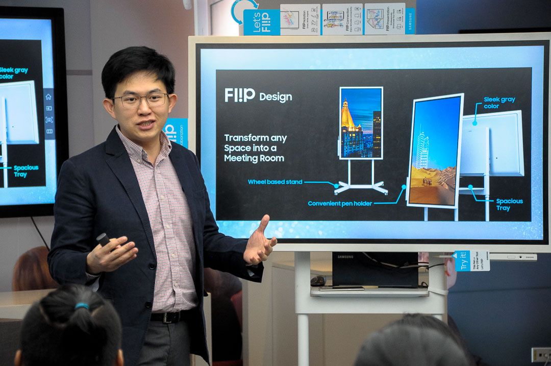 Samsung Fl!p Brings the Traditional Flip Charts to the Interactive Digital World