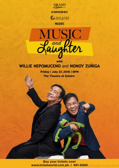 MUSIC AND LAUGHTER | Nonoy Zuniga and Willie Nepomuceno Live at the Theatre at Solaire