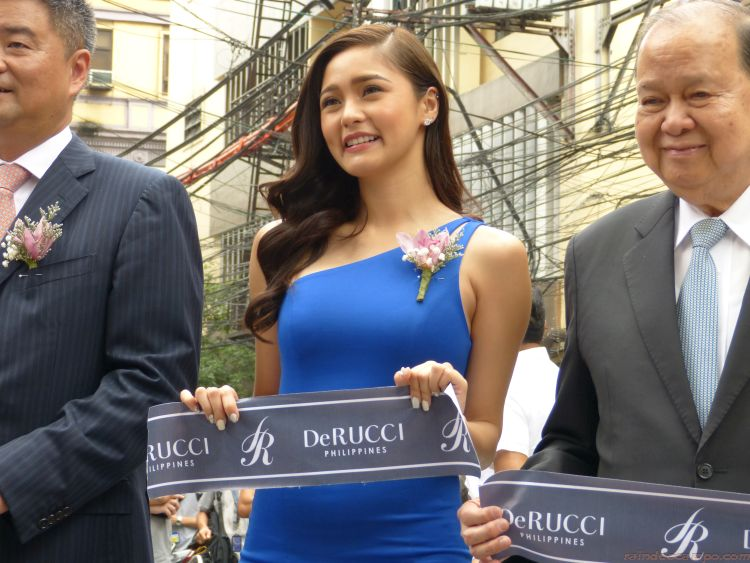 KIM CHIU Goes Back To Binondo For the Opening of the First DeRUCCI Philippines Showroom in Escolta Manila