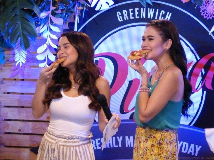 A Hawaiian Themed Greenwich Pizza Party for Yassi Pressman and Bela Padilla