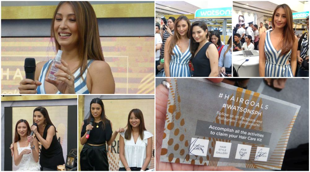Watsons #HairGoals 2018 with Solenn Heusaff, Suyen Salazar and Nicole Andersson