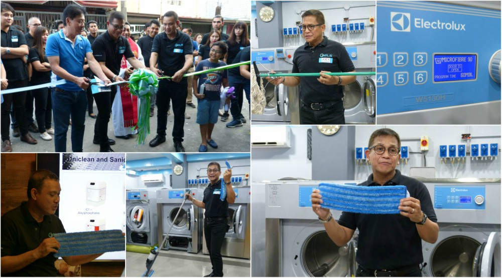 ELS Clean Tech Introduces State-Of-The Art Microfiber Mop and Green Cleaning Systems in the Philippines