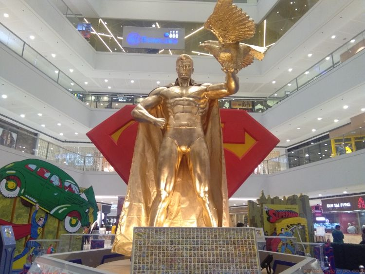 Celebrate 80 Years of Superman at SM Megamall and SM City Marikina