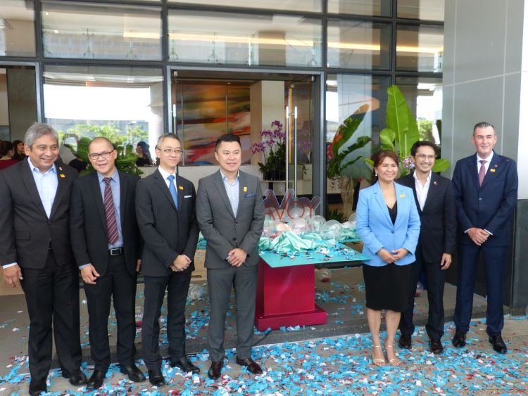 Megaworld Unboxes Savoy Hotel Manila in Newport City