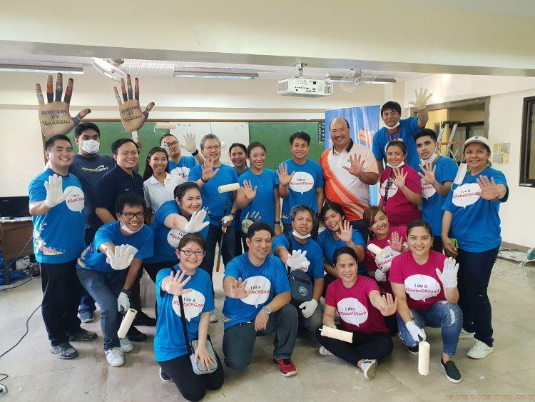 Globe Mobilizes Time Please Volunteers for Brigada Eskwela 2018