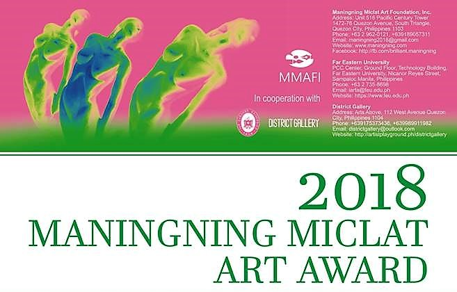 Maningning Miclat Art Competition Extends Deadline to July 31