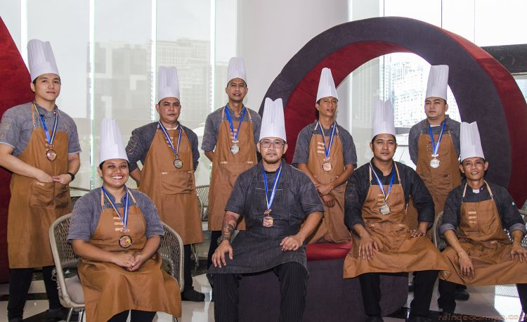 F1 Hotel Manila Chefs Win at the Philippine Culinary Cup 2018