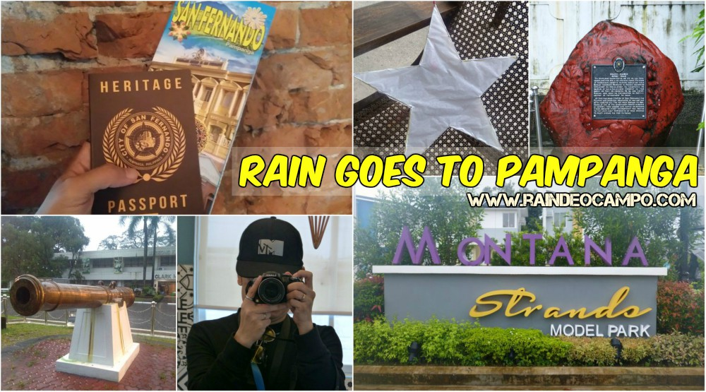 Rain Goes To Pampanga