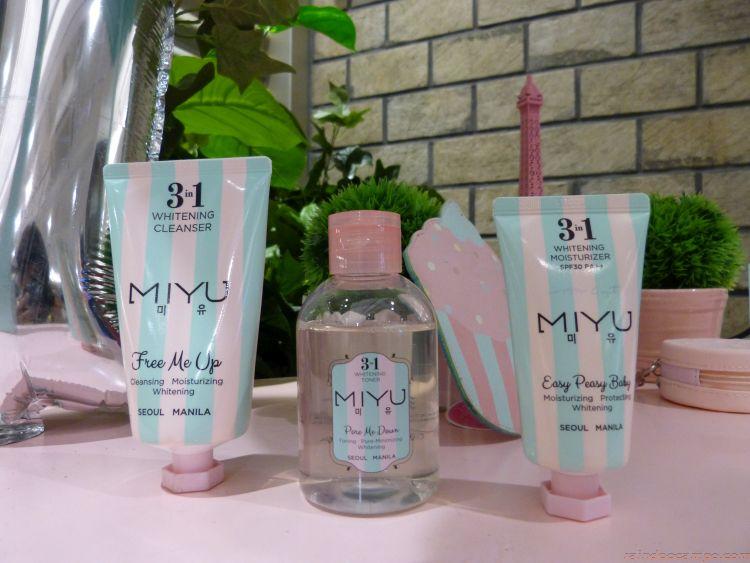 MIYU Cuts Down Korean Skin Care Regimen to 3 Easy Steps