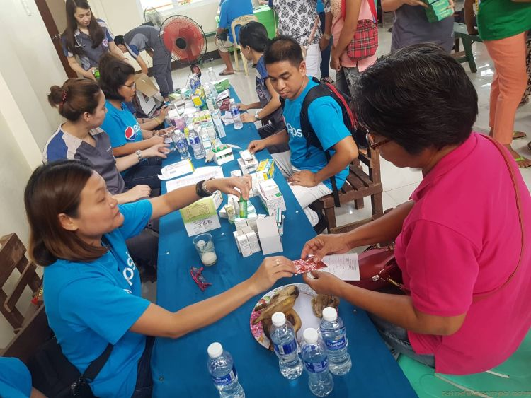 DOH Interns and Pepsi Reaches Out to Remote Towns in Batad, Iloilo