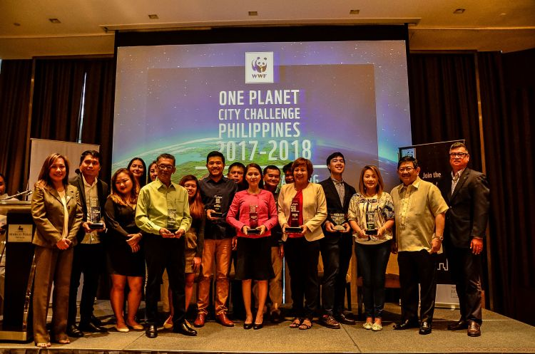 Pasig City Wins 2nd Place in WWF's One Planet City Challenge Initiative