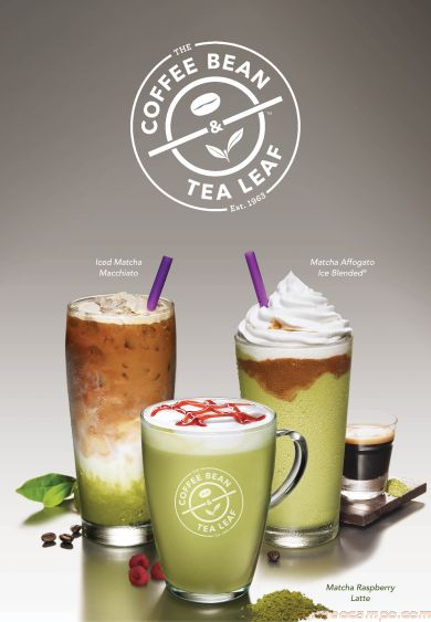 The Coffee Bean & Tea Leaf New Limited Edition Matcha Craze Drinks