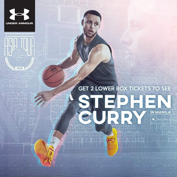 How to Get Free Tickets to See Stephen Curry in Manila