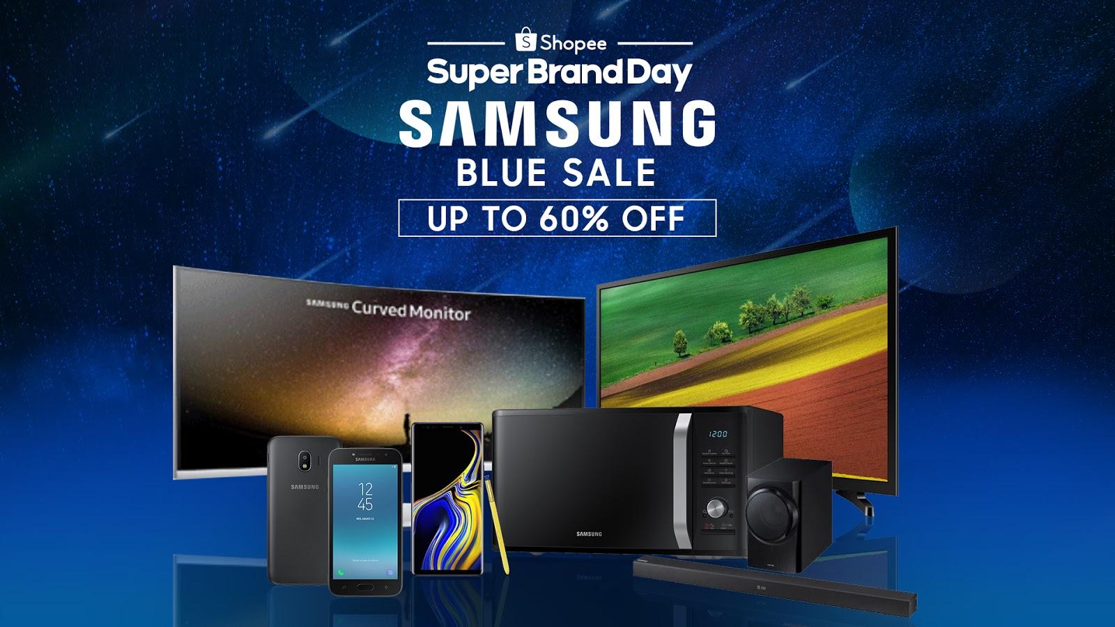 Top 6 Samsung Blue Sale Deals on Shopee #SuperBrandDay