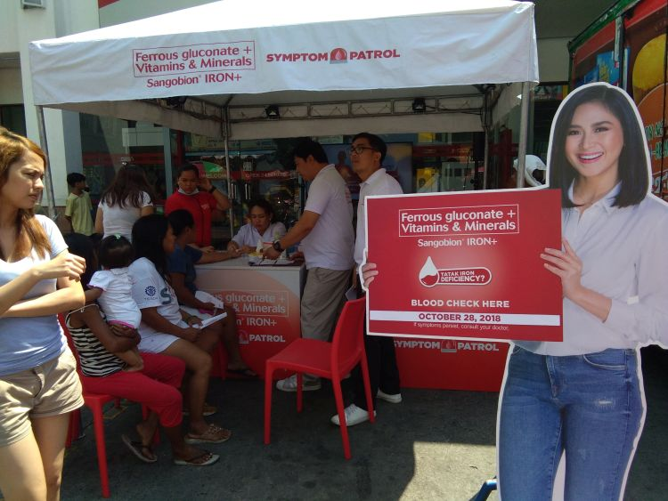 Sangobion Symptom Patrol Keeping Iron Deficiency In Check in Mega Manila