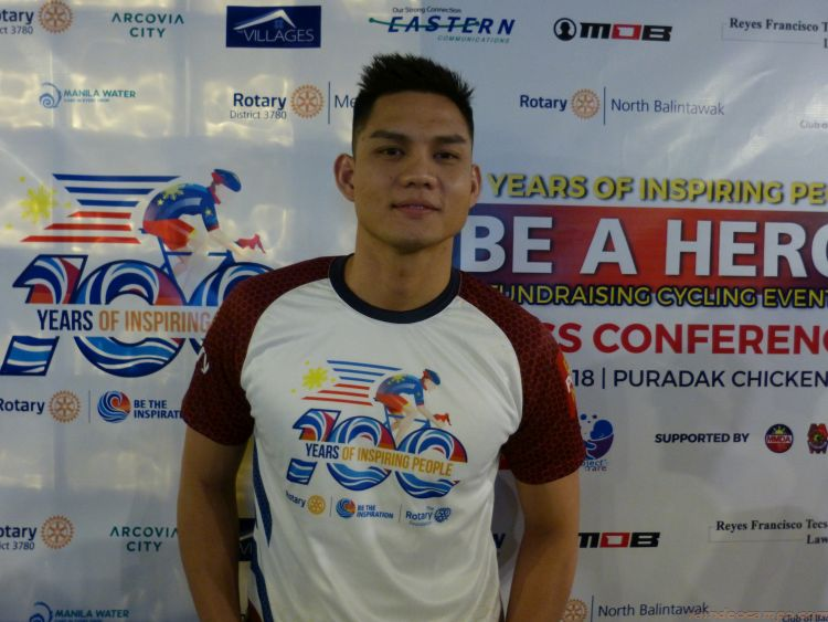 Ervic Vijandre To Bike From Clark to Pasig in Support of Fundraiser For Rare Diseases Foundation