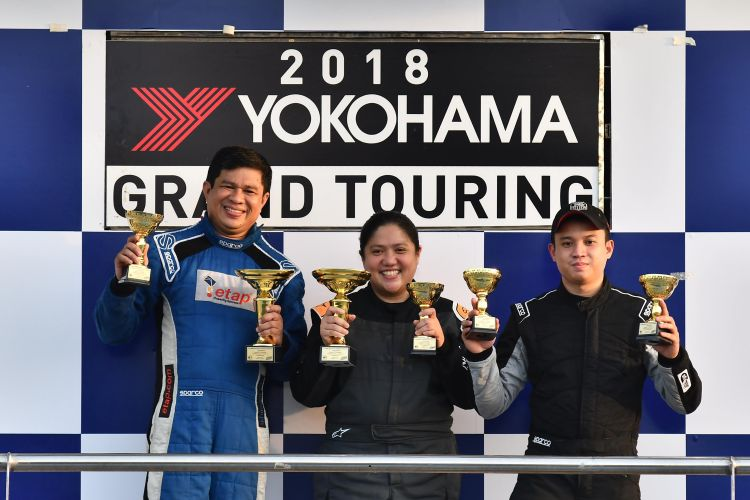 Racer Kathy Villar is First Female Rookie Driver of the Year and Yokohama GT150 Series Champ