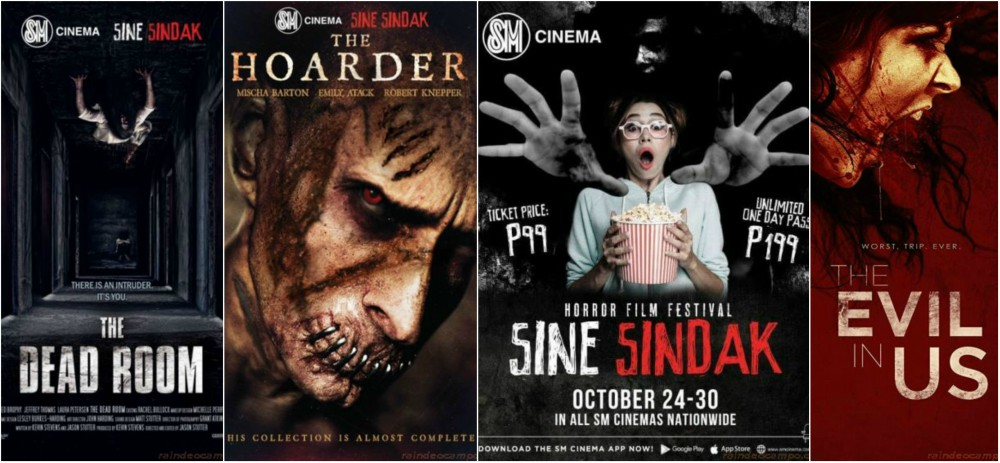8 Scary Movies For Only 199 Pesos in SM Cinema's 1st Sine-Sindak Horror Film Festival