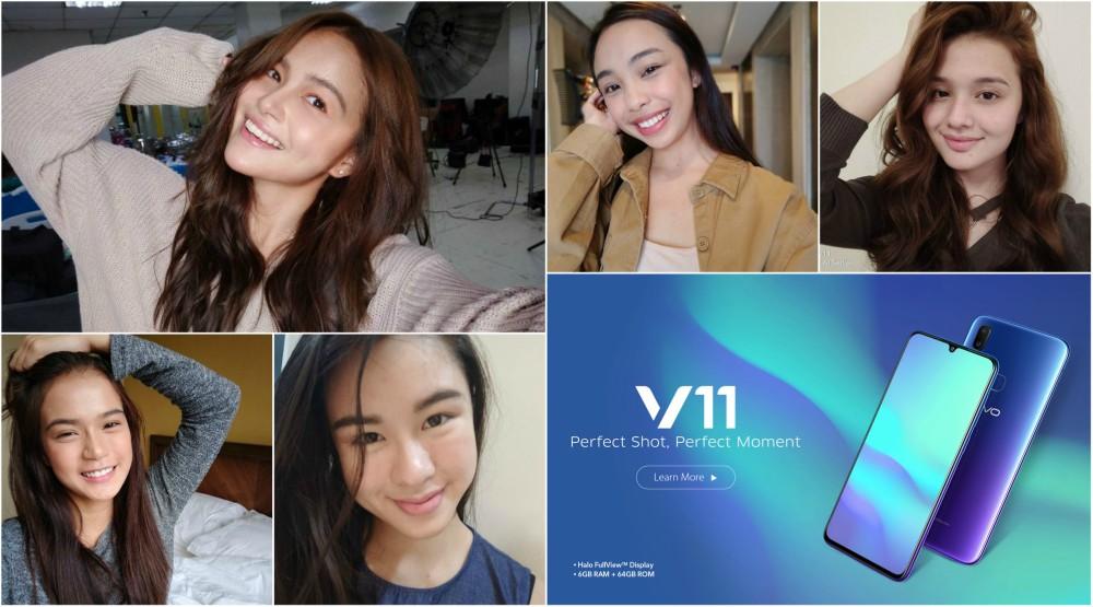 No Make Up Selfie Stars With Vivo V11