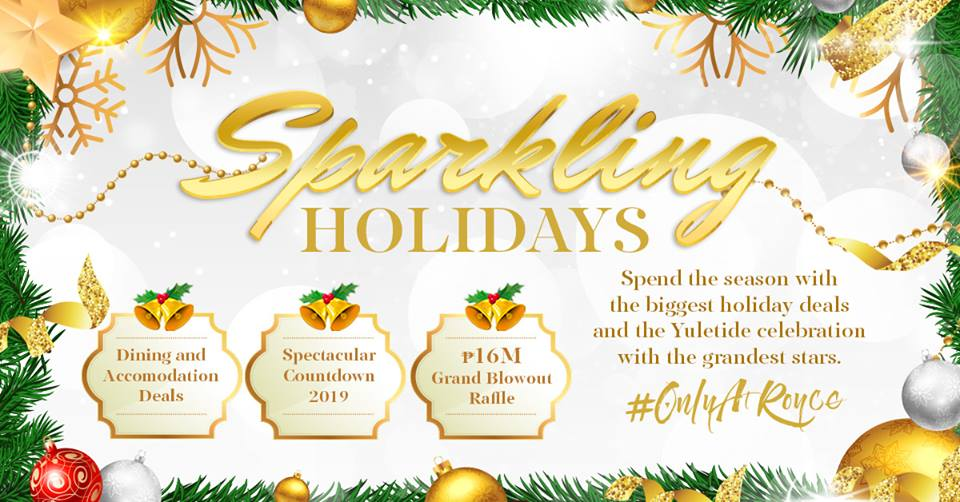 An End of the Year Holiday Bash Only at Royce Hotel