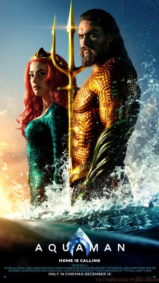Ride The Tide! AQUAMAN is Coming to Manila This December
