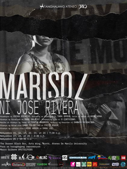 Tanghalang Ateneo Stages Jose Rivera's MARISOL