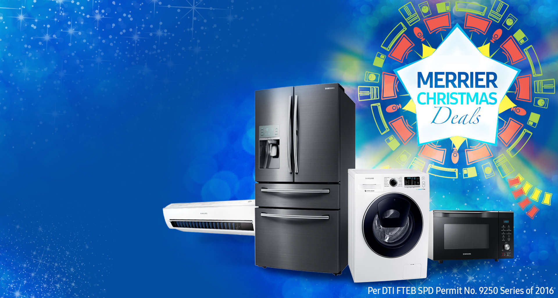 Samsung Digital Appliances Merrier Christmas Deals