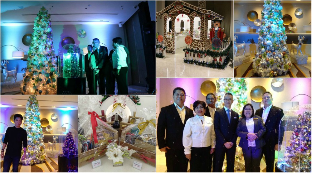 Experience White Christmas at Savoy Hotel Manila