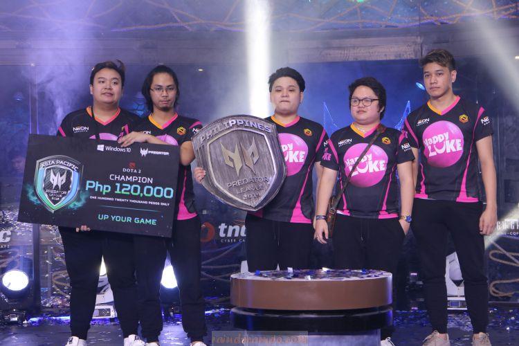 Neon eSports is Predator League DOTA 2 Philippines Grand Champion