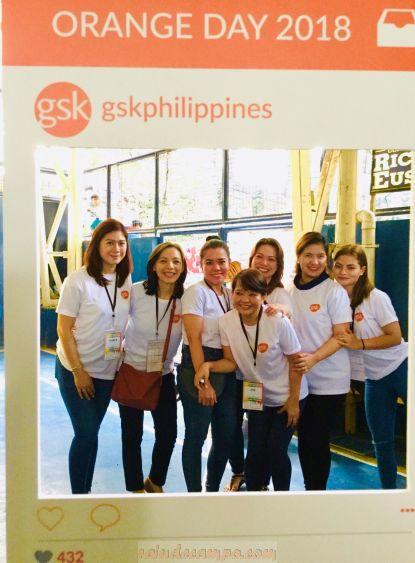 GSK Philippines Celebrates Orange Day 2018 with Gawad Kalinga and Smile Train