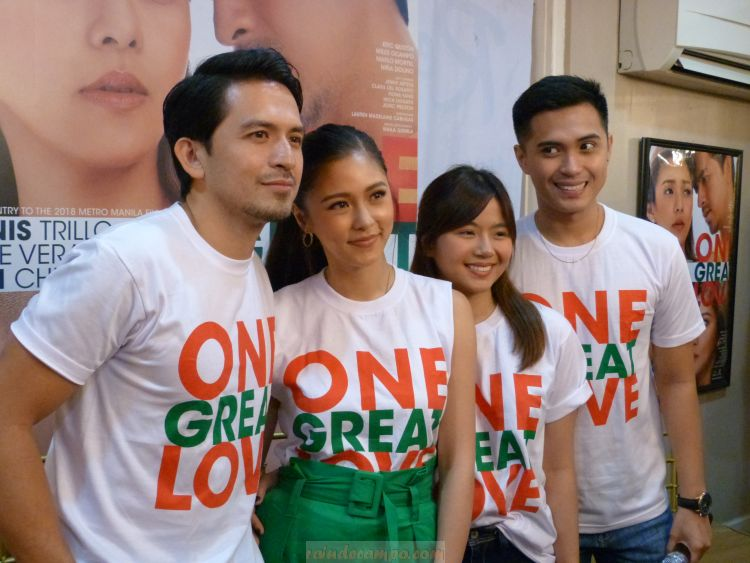 ONE GREAT LOVE is coming on Christmas day!