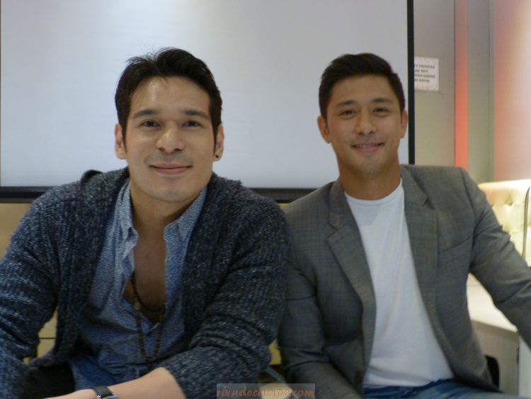 Actor-Nurses Rocco Nacino and Pancho Magno in GMA News TV's New Health-Oriented Show