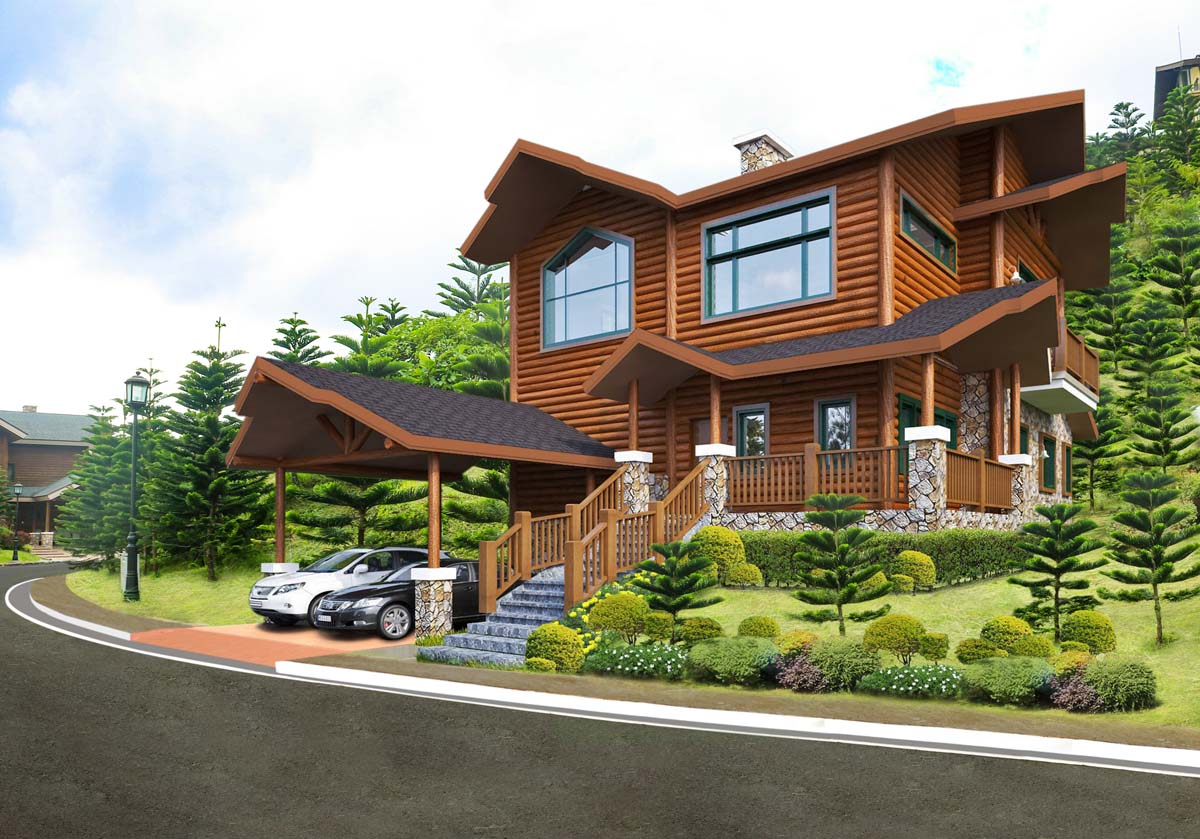 Luxury Log Cabin Living at Woodlands Point in Tagaytay Highlands