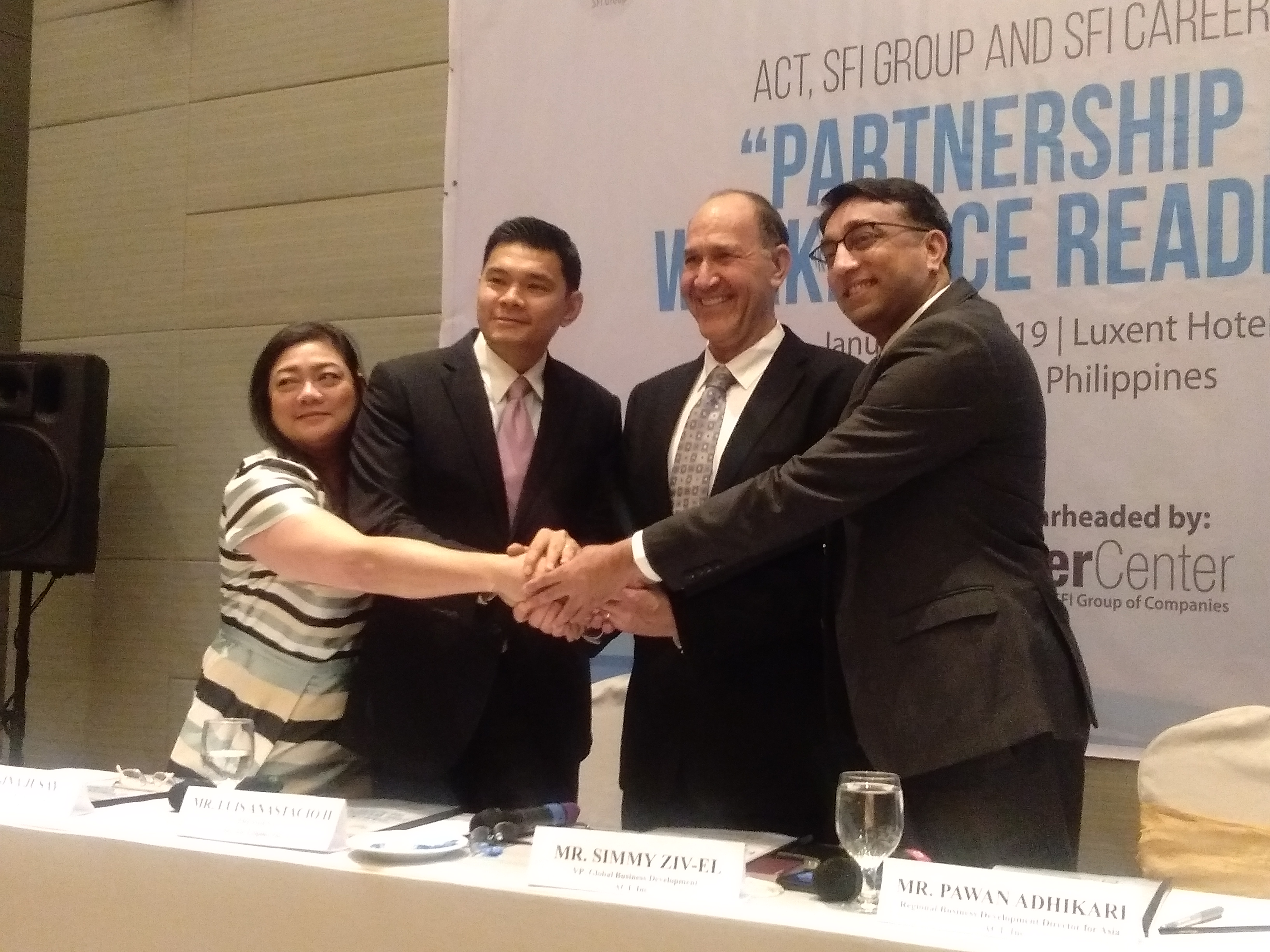 SFI and ACT Launches First Work Ready Communities Framework in the Philippines