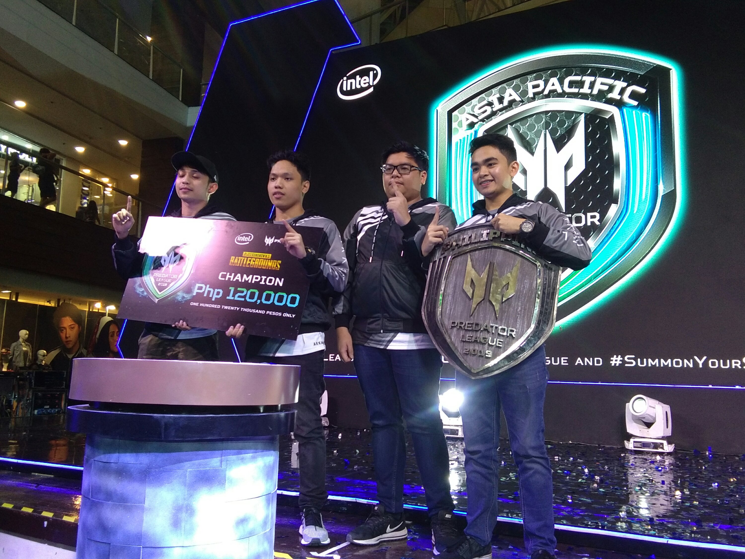 Predator Awards Best Pubg Team In The Philippines Launches