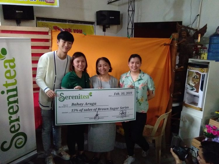 Moments of Compassion with Serenitea and the Pediatric Cancer Patients of Bahay Aruga