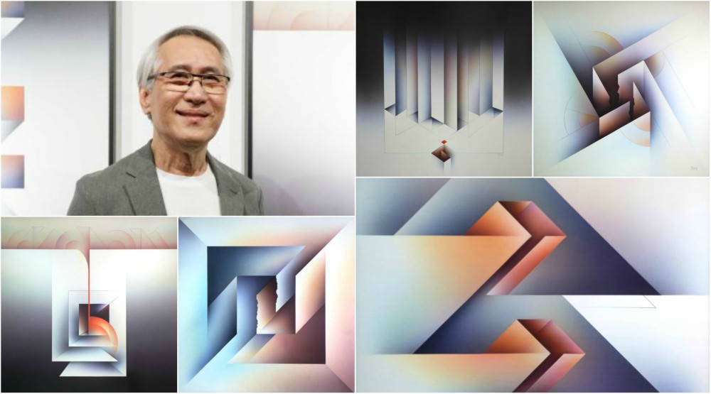 Filipino Abstract Artist Rodolfo Gan Mounts 2nd Solo Exhibit – PRISM 2