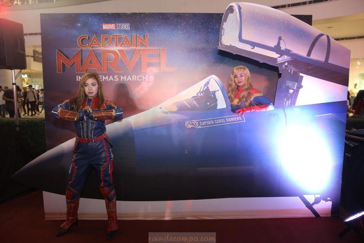 SM Cinema Captain Marvel Interactive Exhibit – Extended in Manila!