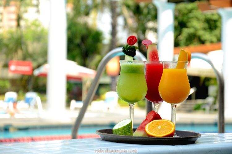 Century Park Hotel Palm Grove Poolside Summertime Treats