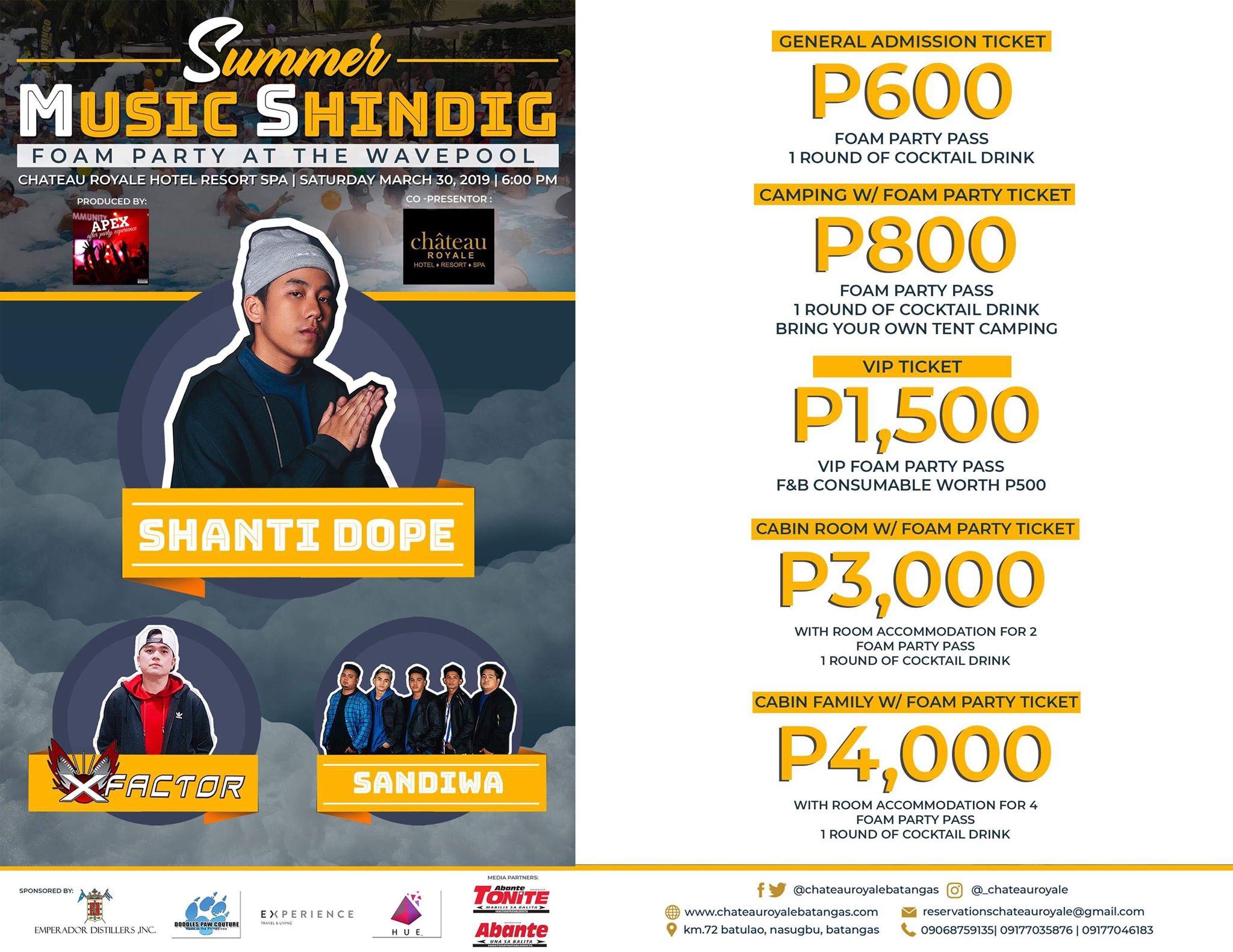 A Summer Music Shindig at Chateau Royale Hotel Resort and Spa Batangas