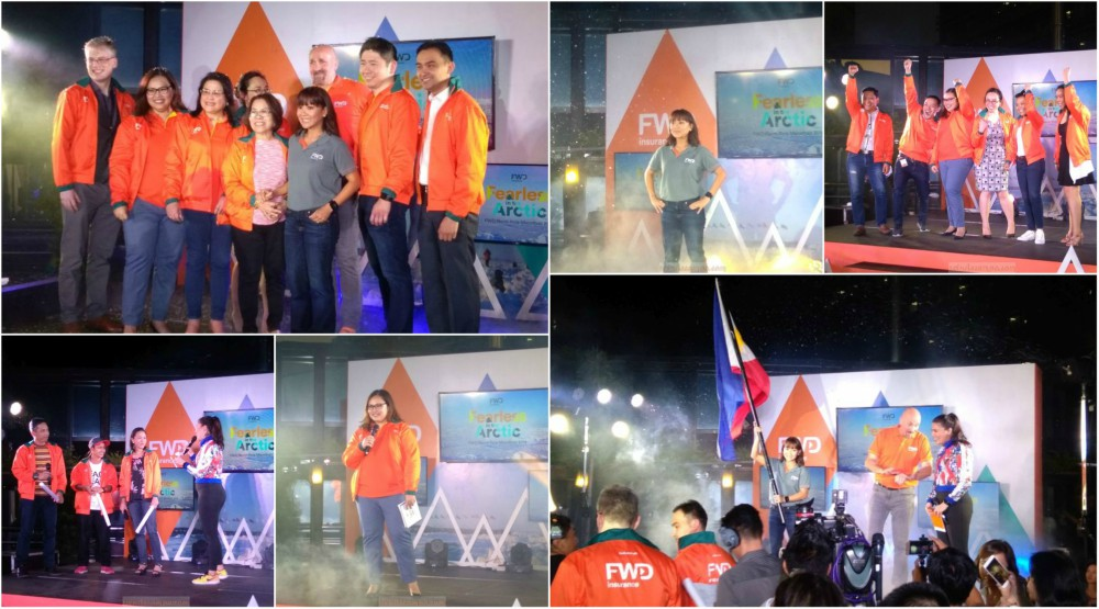 FWD Life Philippines Sends First Filipina to the North Pole Marathon