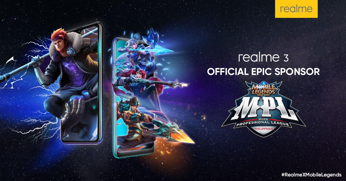 Realme Philippines Sponsors Mobile Legends: Bang Bang Pro League Season 3