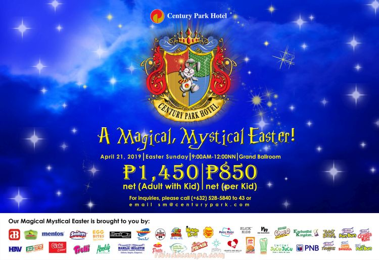 A Magical Mystical Easter at Century Park Hotel Manila