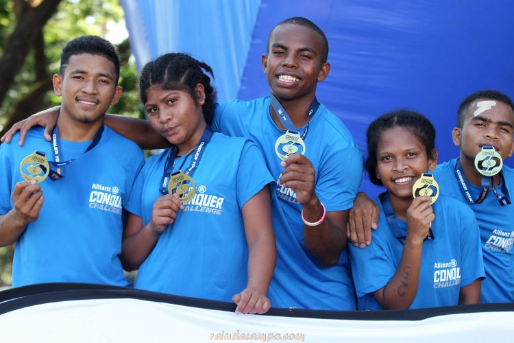 Allianz Philippines Supports Young Aetas' Bid for Obstacle Course Race National Team