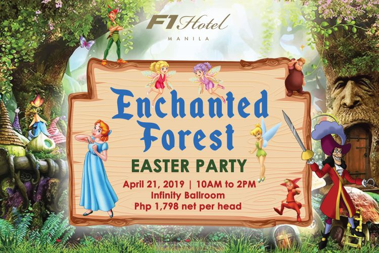 An Enchanted Forest Easter Party at F1 Hotel Manila